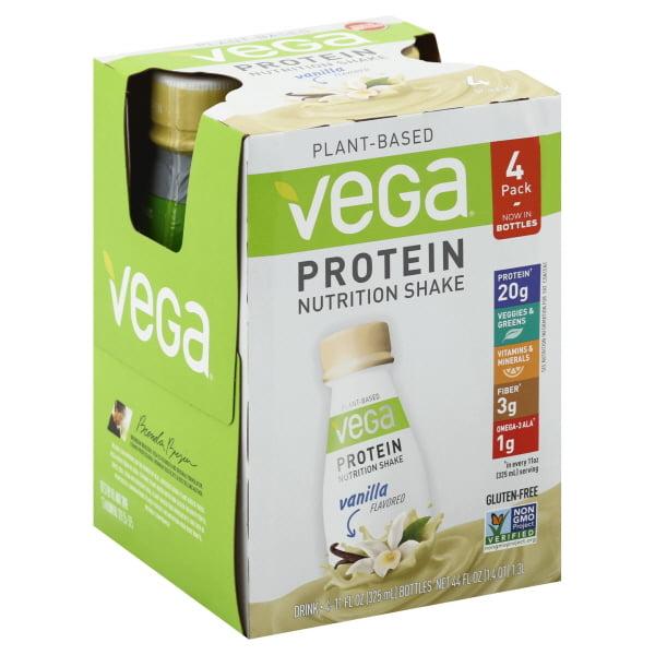 Sequel Naturals Vega Protein Nutrition Shake, 4 ea