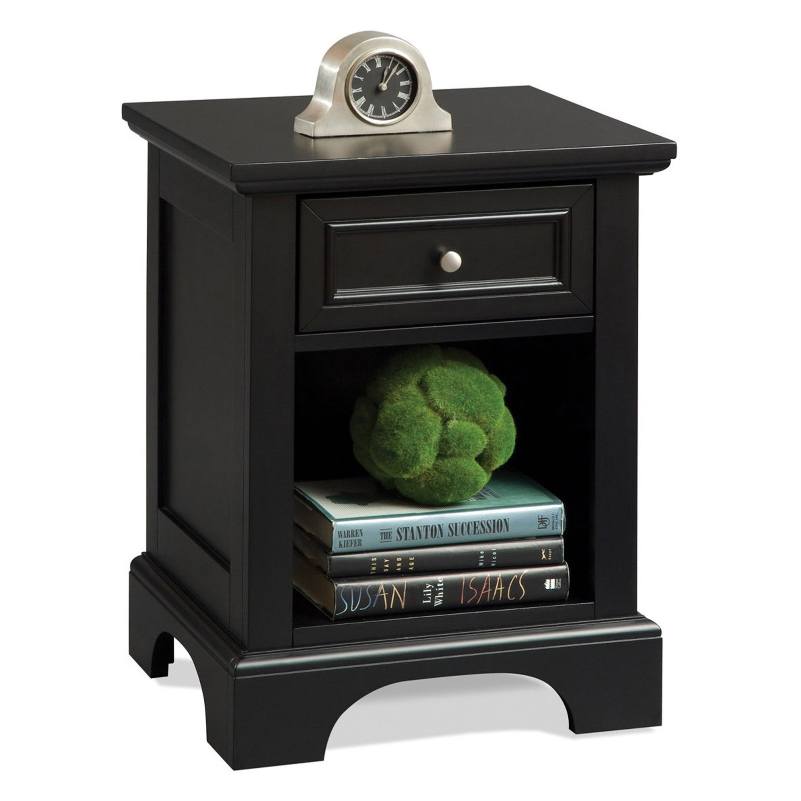 Ebony nightstand