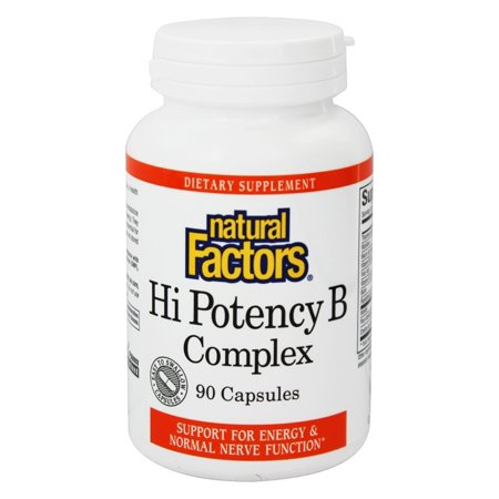 Natural Factors Hi Potency B Complex Reviews