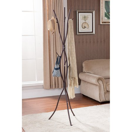 tree branches coat rack | K & B Furniture Tree Branch Coat Rack - 71H in. - Walmart.com
