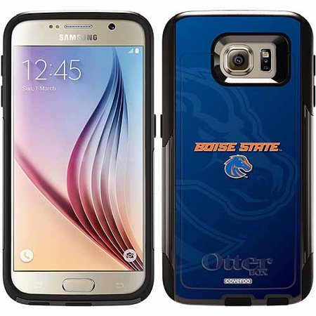 Boise State Cell Phone (Boise State Watermark Design on OtterBox Commuter Series Case for Samsung Galaxy S6 )
