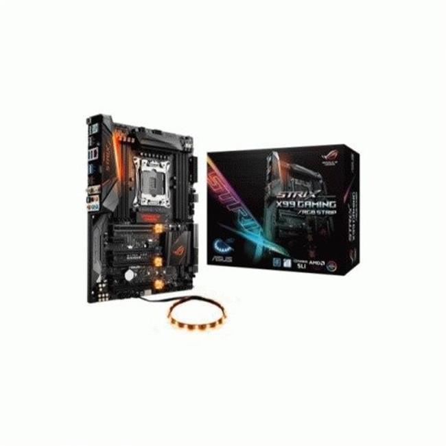 Asus TeK ROG STRIX X99 GAMING-RGB Motherboard STRIP Ci7 2...