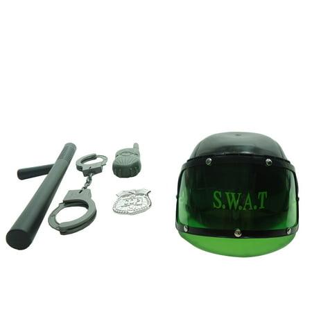 Combat Swat Helmet Play Set with Accessories - Swat Team Helmet