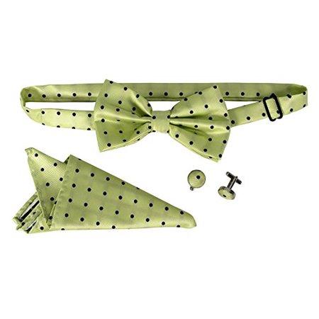 5360562e3b80 Peach Couture Mens Tuxedo Pre-tied Adjustable Neck Bowtie Bow Tie Cufflinks  Pocket Square Set ...