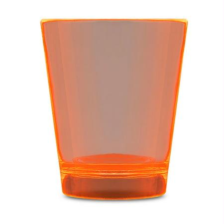 Glow In The Dark Shot Glass Orange by Blinkee