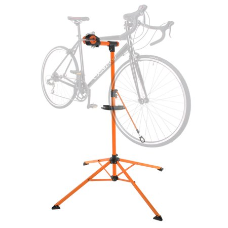 Portable Home Bike Repair Stand Adjustable Height Bicycle