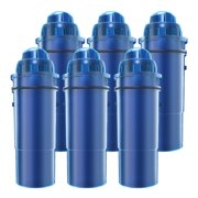 AQUACREST CRF-950Z Pitcher Water Filter Replacement for Pur CRF-950Z, Fits Pur Pitchers and Dispensers(Pack of 6)