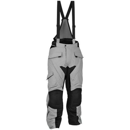 Firstgear Kathmandu Overpants - 32/Black/Grey FTP.1208.02.M032