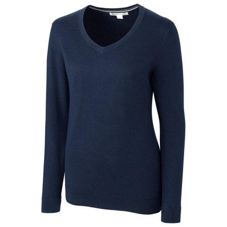 Cutter & Buck Women's Lakemont V-neck Pullover Cutter & Buck Golf Pullover