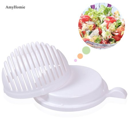 60 Second Salad Maker Bowl, AmyHomie Salad Cutter Bowl, Vegetable Salad Chopped Bowl