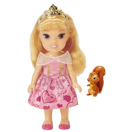 Disney Princess Aurora Petite Doll and Friend