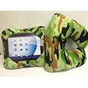 GoGo Pillow - Travel Pillow - Neck Pillow - Tablet Holder - Green Camo