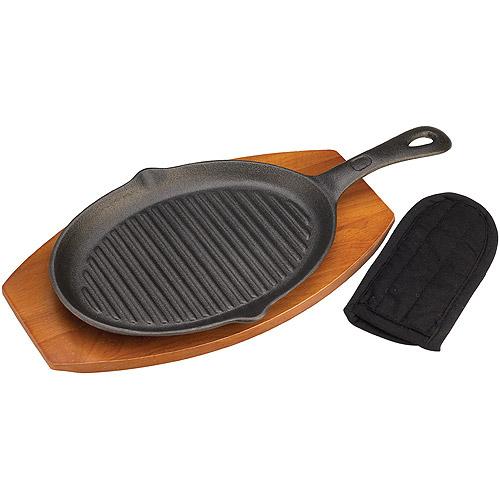 Onward Grill Pro 98170 Cast Iron Fajita Pan