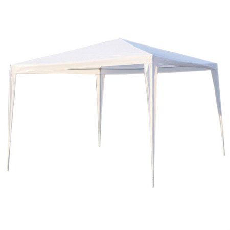 Aleko Gz10x10wh Waterproof Gazebo Tent Canopy For Outdoor Events Picnic Parties  White Color