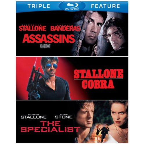 Assassins / Cobra / The Specialist (Blu-ray)
