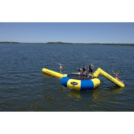 Rave Sports Bongo 13 Water Bouncer with Small Slide and Small Log
