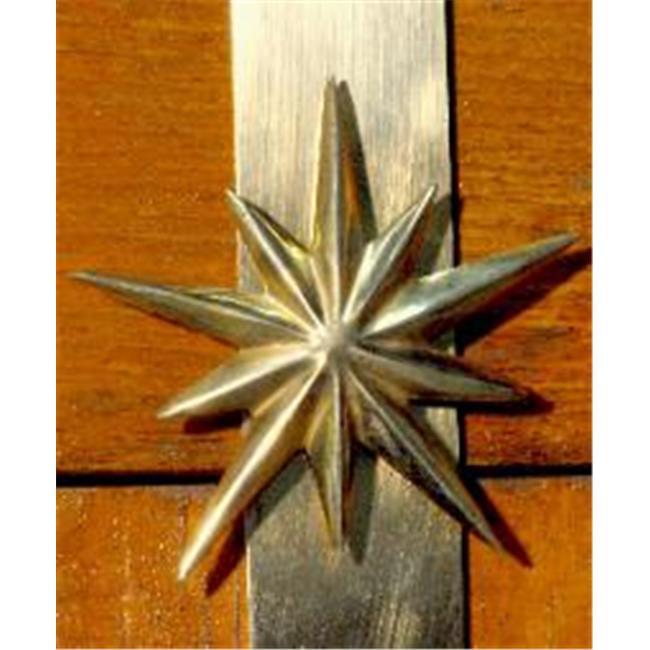 Mayer Mill Brass WSTH-1 - Star Wreath Hanger
