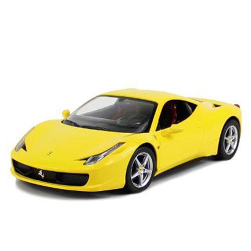 """12"""" 1:14 scale Ferrari 458 Italia Yellow R C Radio Control Car (Gift Idea) RC Car R C... by"""