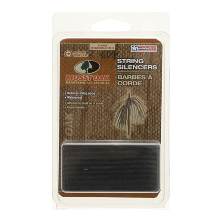 Mossy Oak String Whiskers String Silencers, Black