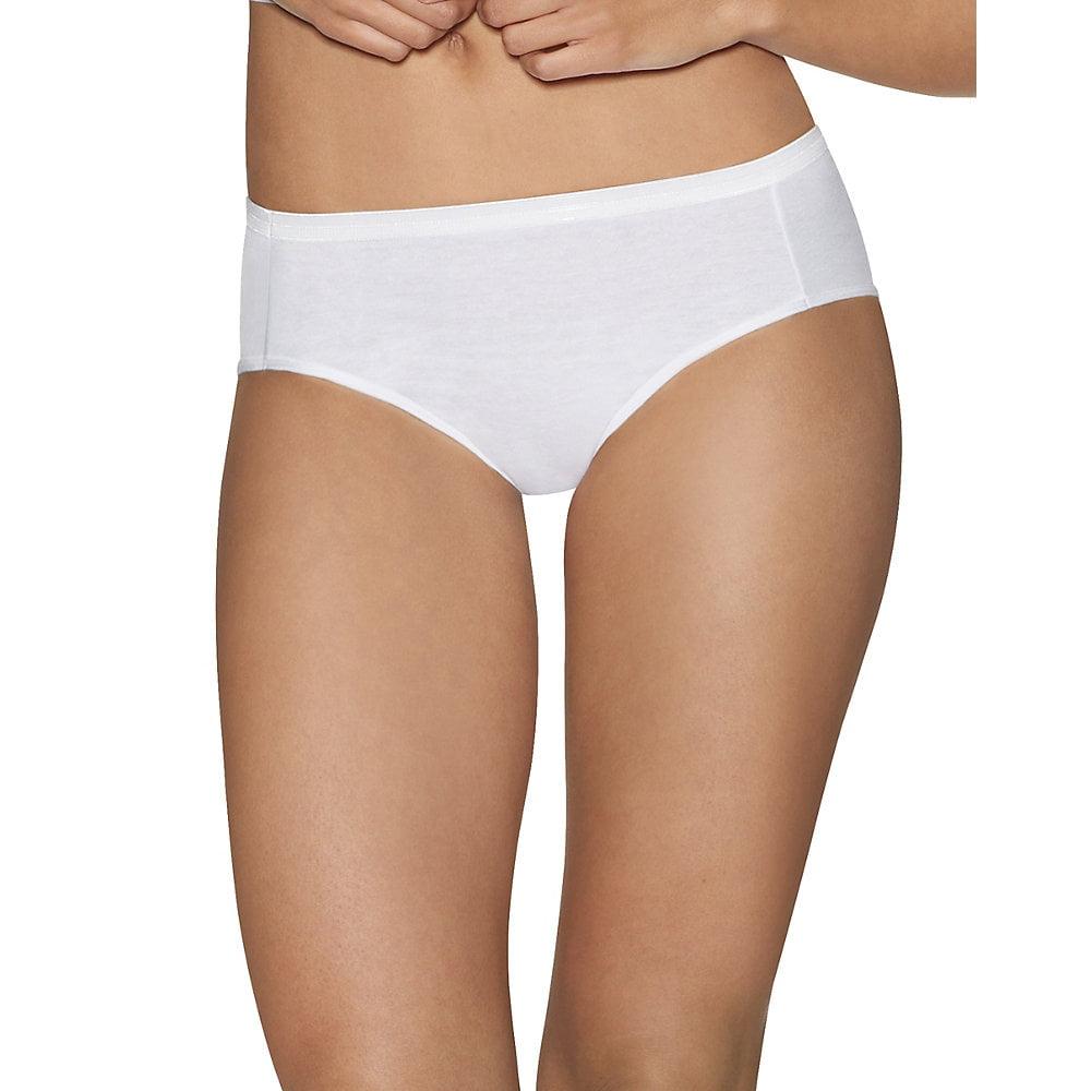 028fce9df1c6 Ultimate™ Comfort Cotton Women's Hipster Panties 5-Pack 41HUCC - Walmart.com
