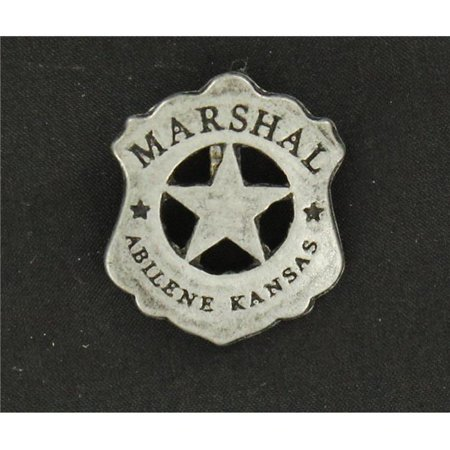 M&F Western 28226 Abilene Kansas Toy Marshall Badge Pin