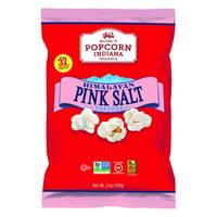 Popcorn Indiana Himalayan Pink Salt Crispy Popcorn 2.1oz (PACK OF 6)
