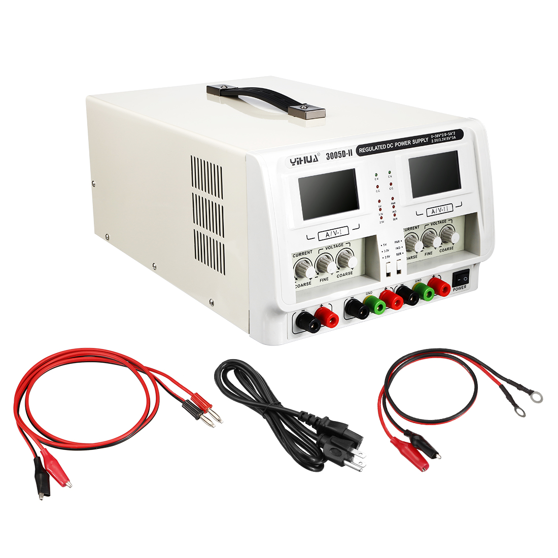 0~30V 0~5A Variable Adjustable Switching Precision DC Power Supply LED Display - image 5 de 5