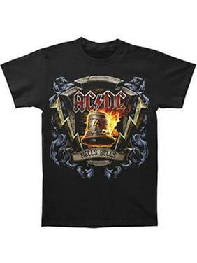 AC/DC Men's  Hells Bells Shield T-shirt Black