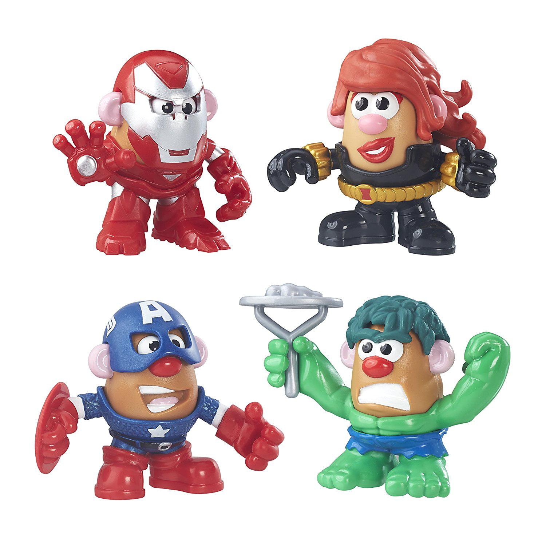 Playskool Friends Mr. Potato Head Marvel Super Rally Pack..., By Mr Potato Head Ship from US by
