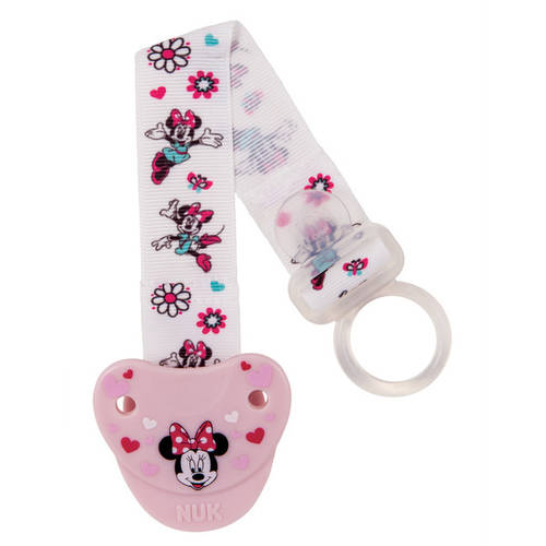 Nuk Disney Minnie Mouse Fashion Pacifier Clip