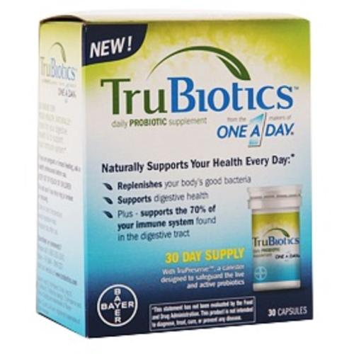 TruBiotics Daily Probiotic Supplement Capsules 30 Capsules (Pack of 3)