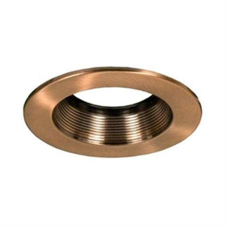 Jesco Lighting RLT-R4002-AB-AB 4 in. Step Baffle Trims for LED Retrofit Module, Bronze 20 Antique Bronze Baffle