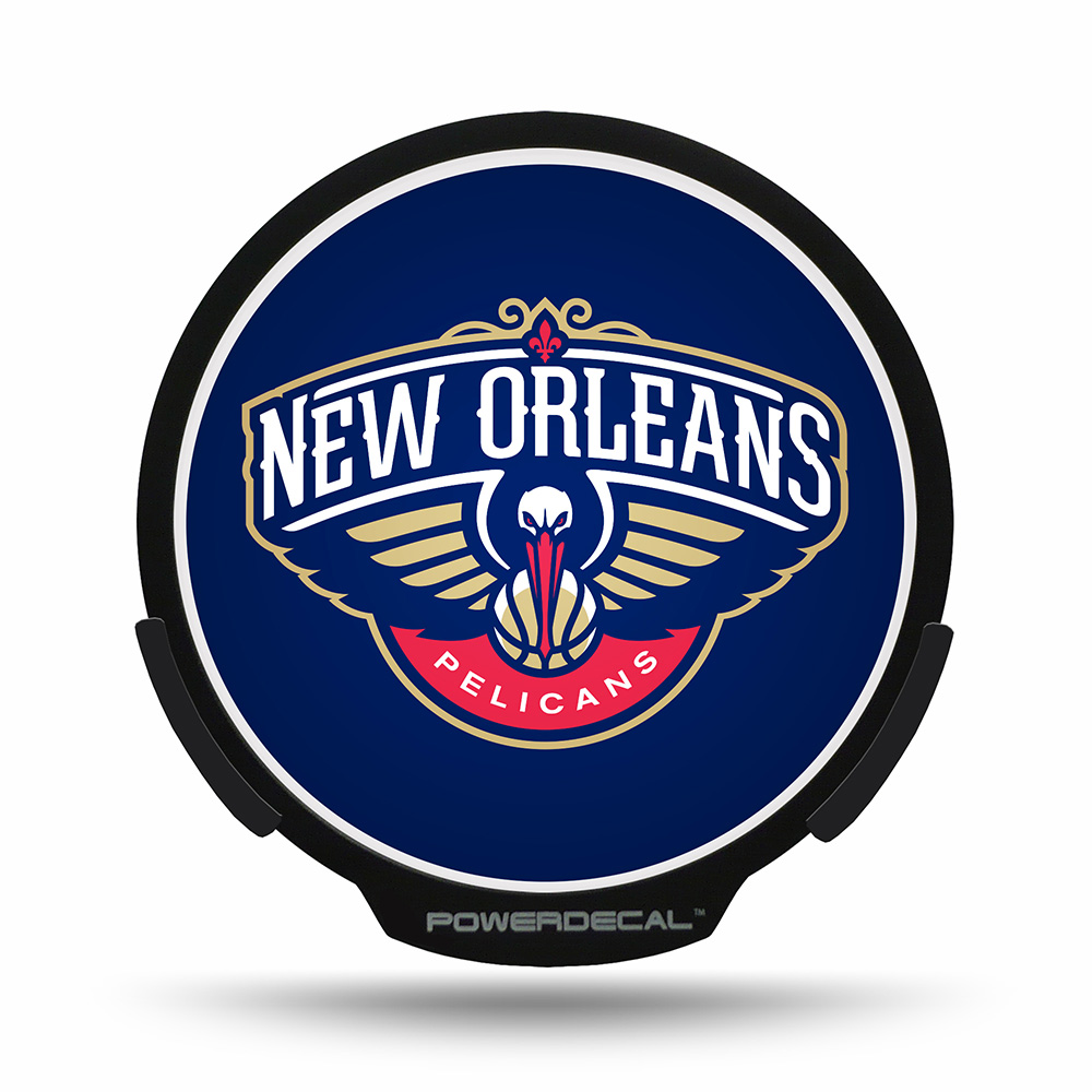 New Orleans Pelicans NBA Power Decal