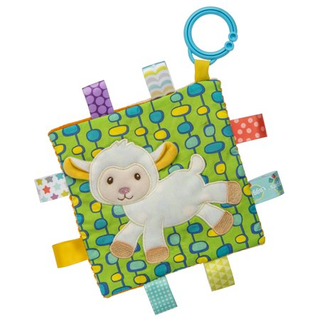 Mary Meyer Taggies Crinkle Me Baby Toy, Sherbet Lamb Mary Meyer Taggies Crinkle Me Baby Toy, Sherbet Lamb
