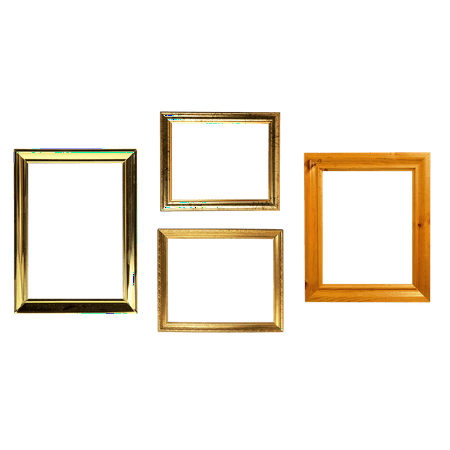 LAMINATED POSTER Frame Decorative Element Wooden Frame Creativity Poster 24x16 Adhesive Decal - Wooden Poster Frames