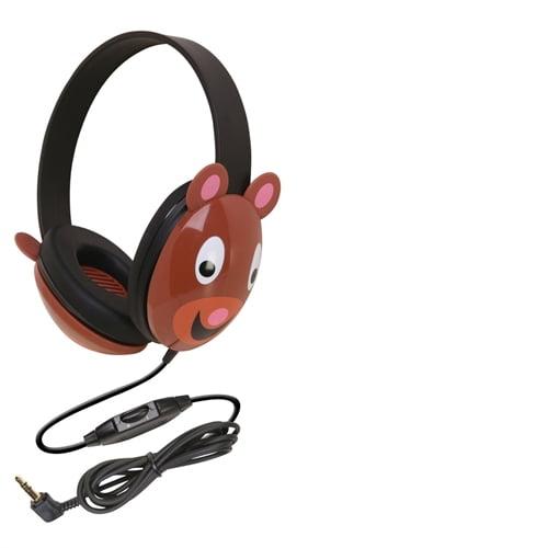 Ergoguys Kids Stereo PC Bear Design Headphone 2810-be