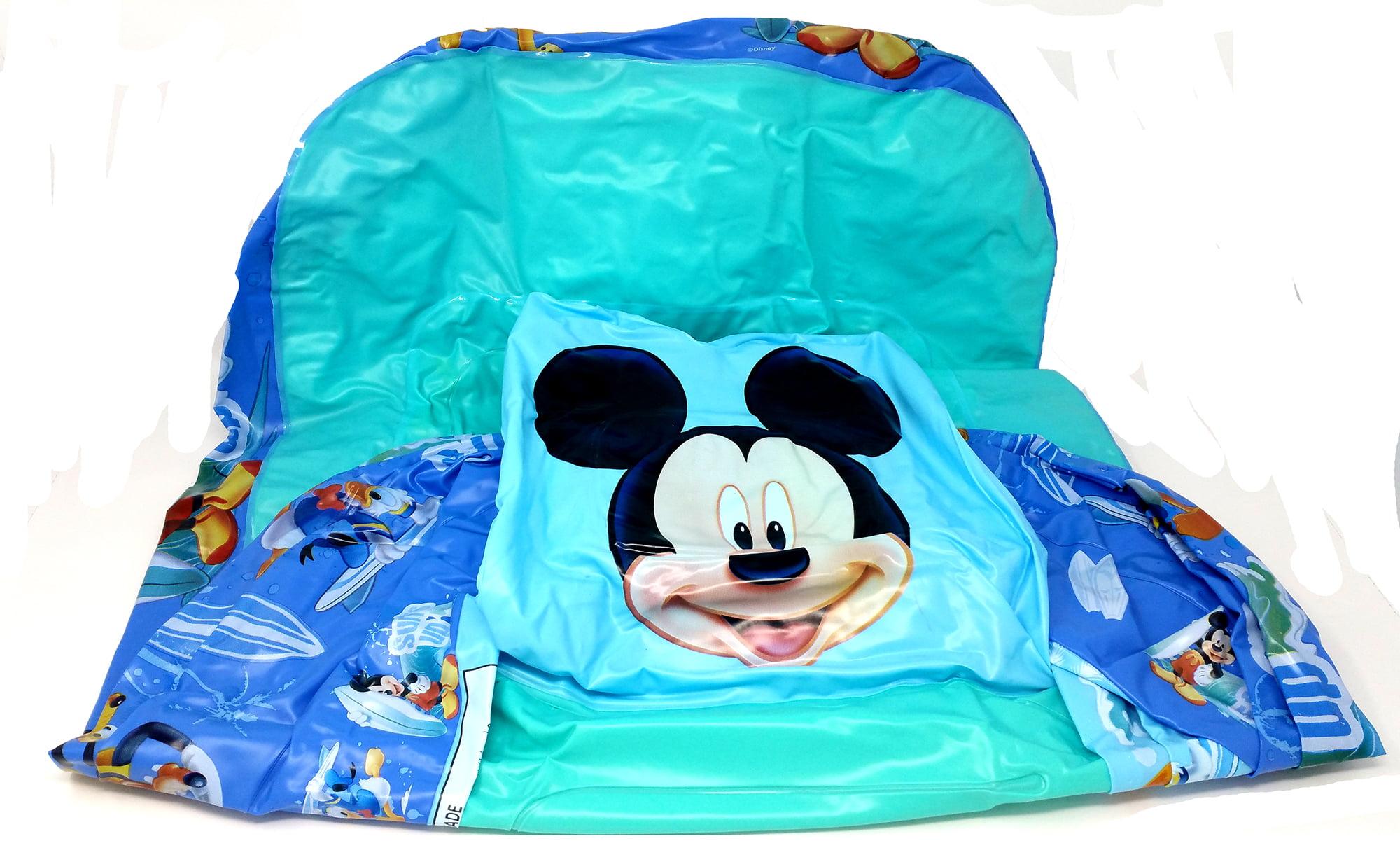 Disney Mickey Mouse, Inflatable Safety Bathtub, Blue - Walmart.com