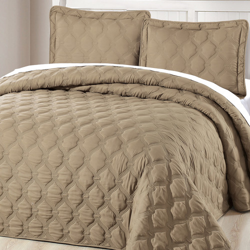 Serenta Bradly 3 Piece Quilt Set
