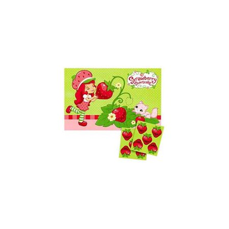 Strawberry Shortcake 'Dolls' Party Game Poster (1ct)
