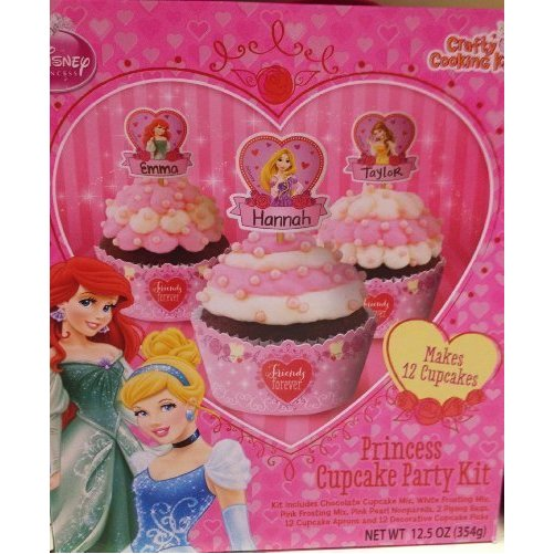 Disney Princess Cupcake Party Kit
