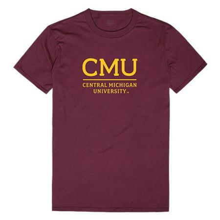CMU Central Michigan University Chippewas Institutional Tee T-Shirt - Central Michigan University Halloween