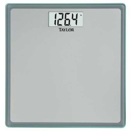 Taylor Glass Digital Bath Scale - Walmart.com