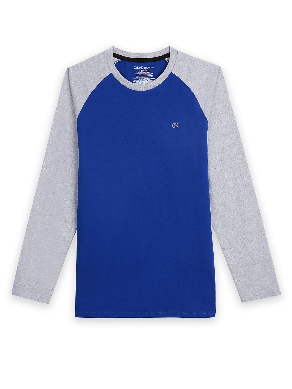 Boy's Sportswear Baseball Raglan Tee