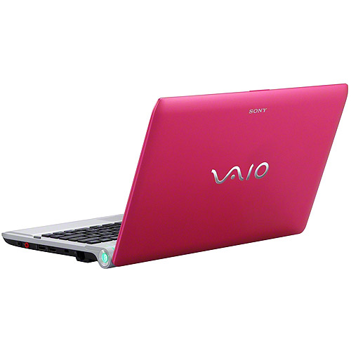 """Sony Pink 11.6"""" VAIO VPCYB35KX/P Laptop PC with AMD Dual-Core E-450 Processor and Windows 7 Home Premium"""