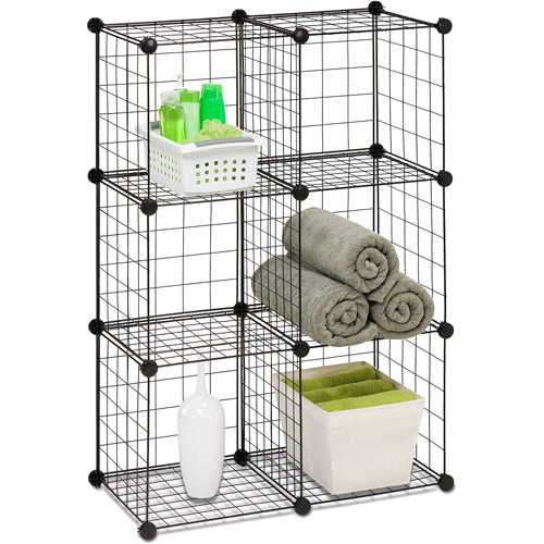 Honey Can Do 6pk Modular Mesh Storage Cubes