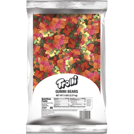Trolli, Gummy Bears Bulk Candy, 5 Lb](Gummy Sharks Candy)