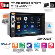 Best Car Stereos - Dual Electronics XDVD269BT 6.2-inch LED Backlit LCD Multimedia Review