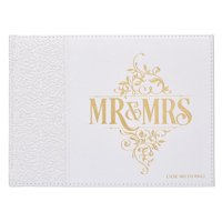 Guest Book Lux-Leather MR & Mrs (Hardcover)