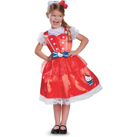 San Rio Hello Kitty Authentic Deluxe Child Halloween Costume](Authentic Halloween Costumes)