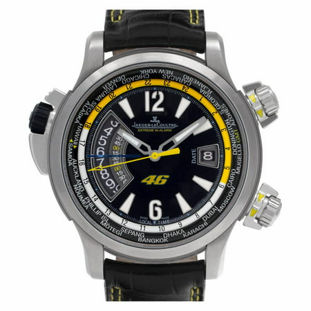 Pre-Owned Jaeger Lecoultre Master Compressor Q177T47V Titanium  Watch (Certified Authentic & Warranty)